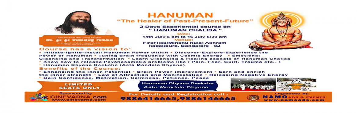 2-Days Residential-Experiential Discourse on Hanuman Chalisa