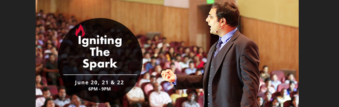 Book Online Tickets for Igniting The Spark By BSR, Pune. Don\'t you want to make your dreams a reality? Don\'t you want your family and friends to be PROUD of you? No bookish gyaan. Listen straight from me - How I went from being directionless and disappointed to a LIFE, me and my FAMILY are PROUD of,