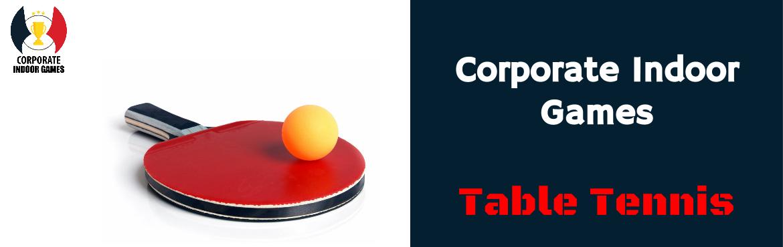 Table Tennis - Corporate Indoor Games