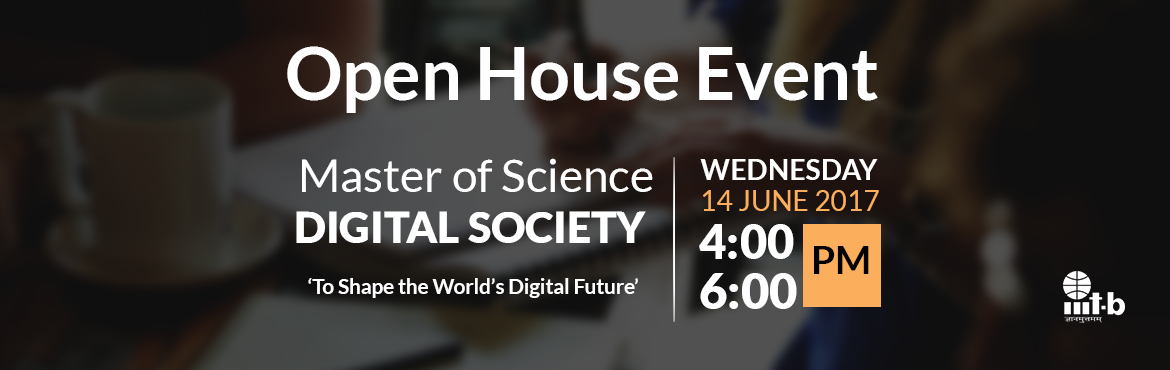 Open House Event - M.Sc. in Digital Society