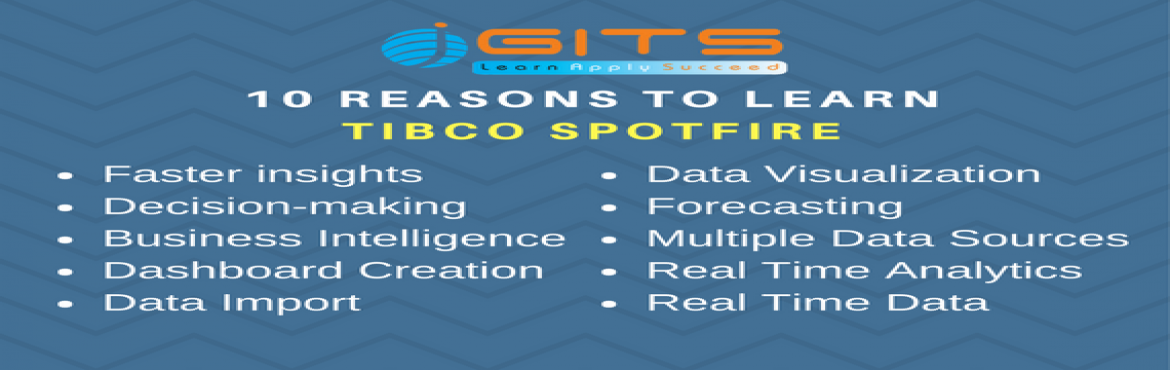 TIBCO SPOTFIRE Workshop for 2 days in Bangalore