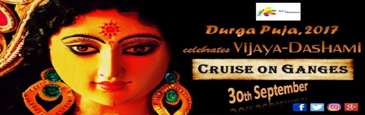 Book Online Tickets for CRUISE on GANGES - celebrates Vijaya-Das, Kolkata. Description:- We celebrate and observe Vijaya-Dashami on Cruise-float on Ganges from Fairlie Place Ghat to Bagbazar via Babughat, Howrah Bridge, Ahritola Ghat, Kumartuli Ghat and back as follows. Date: 30th September, 2017 Venue: Fairlie Place Ghat,