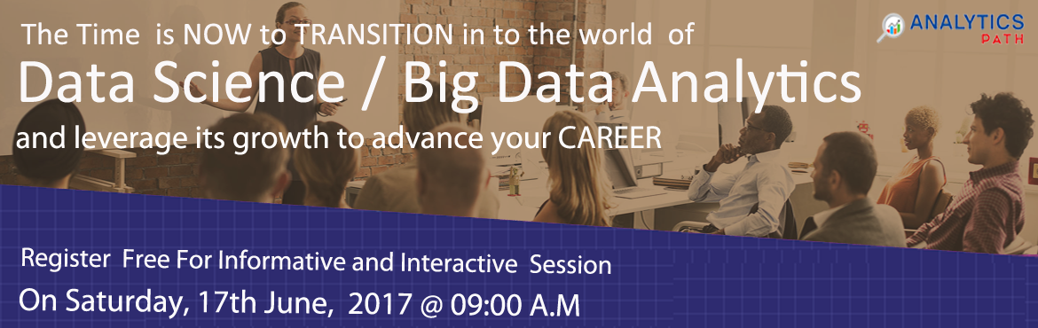 Take a Part in High Interactive Data Science Workshop