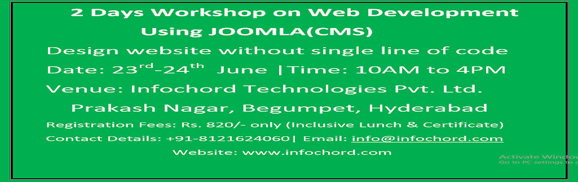 Workshop on Web development