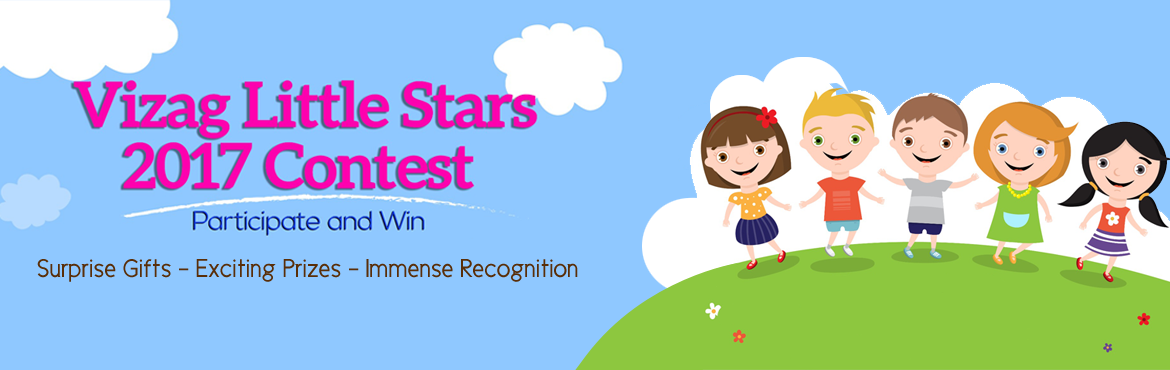 Book Online Tickets for Vizag Little Stars Contest , Visakhapat. Vizag Little Stars Contest is a first of its kind contest for kids to bring out their creativity, talent and imbibe a sense of patriotism along with immense recognition and rewards to support a charitable cause. Participate and grab the chance to be
