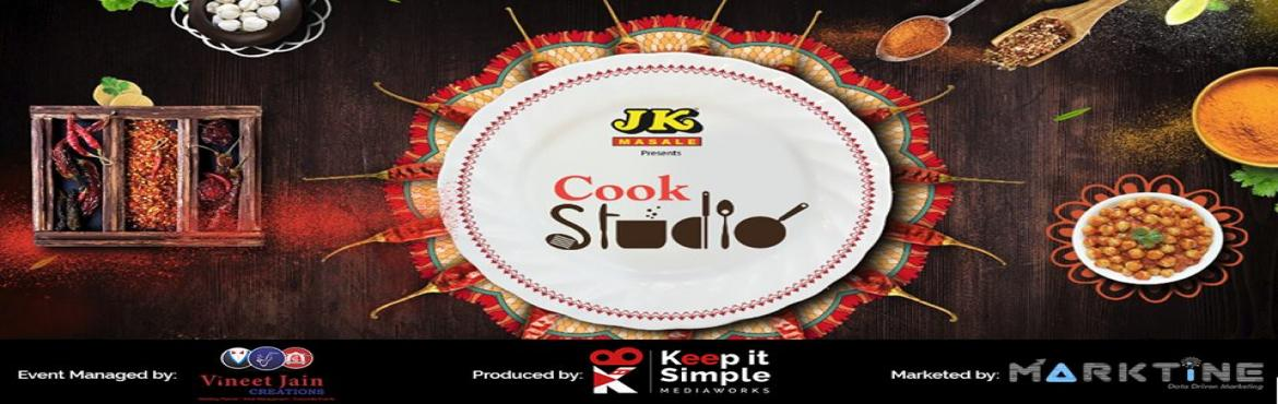 Book Online Tickets for CookStudio - Biggest Live Cooking Battle, Jaipur.  Cook Studio is a unique concept which aims to hunt for the supreme chef of India. This exciting reality show is designed to explore the hidden cooking skills and talent of Common people with TV and Bollywood renowned celebrities and master chef
