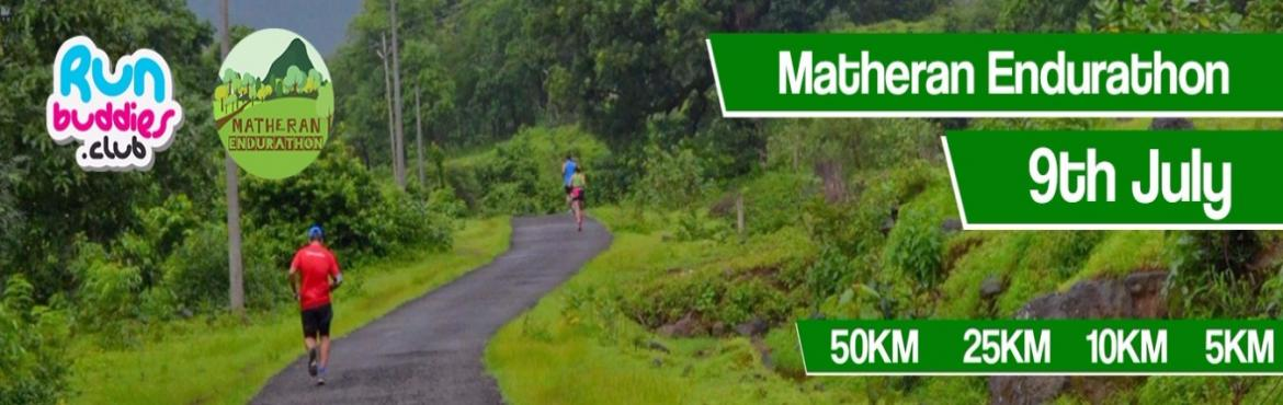 Book Online Tickets for Matheran Endurathon 2017, Mumbai. Let us run in the dense tree cover of Matheran. The only place where vehicles are not allowed. It is free of noxious pollutants. It is monsoon time so get ready to get soaking wet and cooled off from the scorching summer heat. You can use the 10K tim