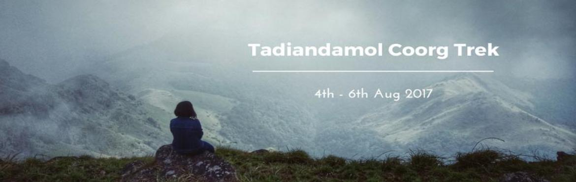 Book Online Tickets for Tadiandamol Coorg Monsoon Trek | Plan Th, Bengaluru. Coorg, as a part of its never-ending beauty and wonders, brings to you it's the highest point: Tadiandamol, which is located at an altitude of 5735 feet. This stunning peak is surrounded by the greenery and expanses of the Shola forests, which