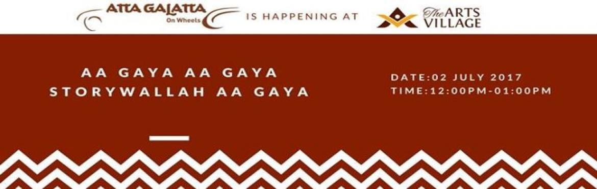 Book Online Tickets for Aa Gaya Aa Gaya Storywallah Aa Gaya, Bengaluru.  Ameen brings his bagful of stories for the young and the old and all those in between.