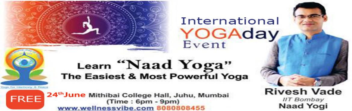 International Yoga Day Event | Nada Yoga By Rivesh Vade