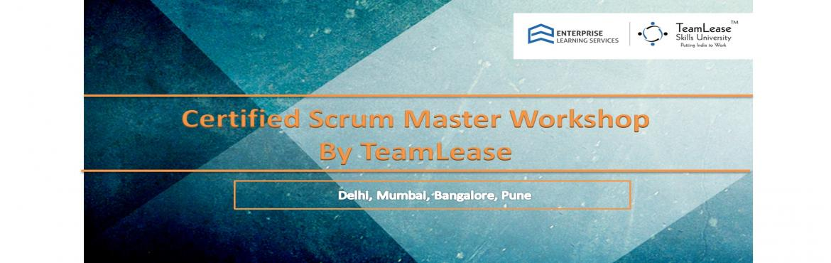 Book Online Tickets for Certified Scrum Master (CSM) @ Hyderabad, Hyderabad.  Course Overview   Scrum is a framework for developing and sustaining complex products. This definition consists of Scrum's roles, events, artifacts and the rules that bind them together. Ken Schwaber and Jeff Sutherlan