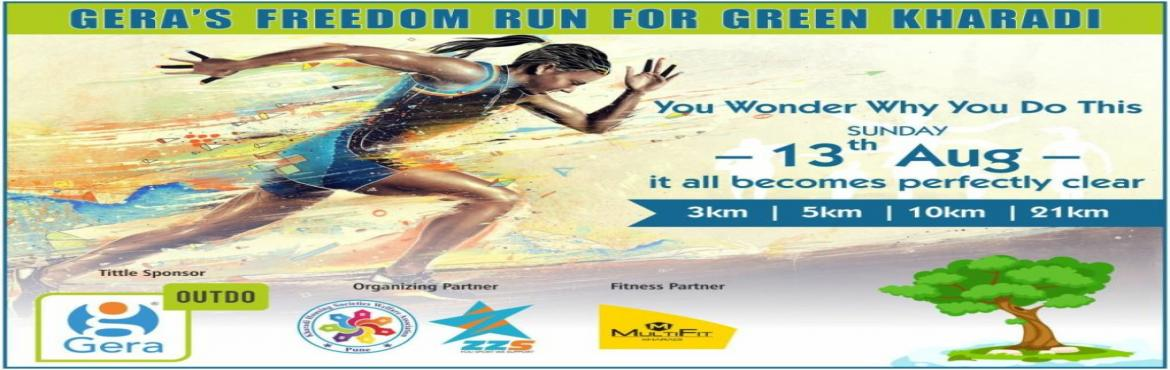 Gera Freedom Run for Green Kharadi