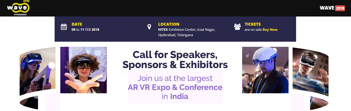 WAVE 2018 - World AR VR Expo and Conference