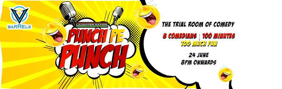 Book Online Tickets for Punch Pe Punch - the trial room of comed, NewDelhi.  The super successful Punch pe Punch comes to west delhi this time. A show which brings together the best comedians of the delhi comedy scene to deliver an evening of fun filled laughter and humour for you. We have a very exciting line up for y