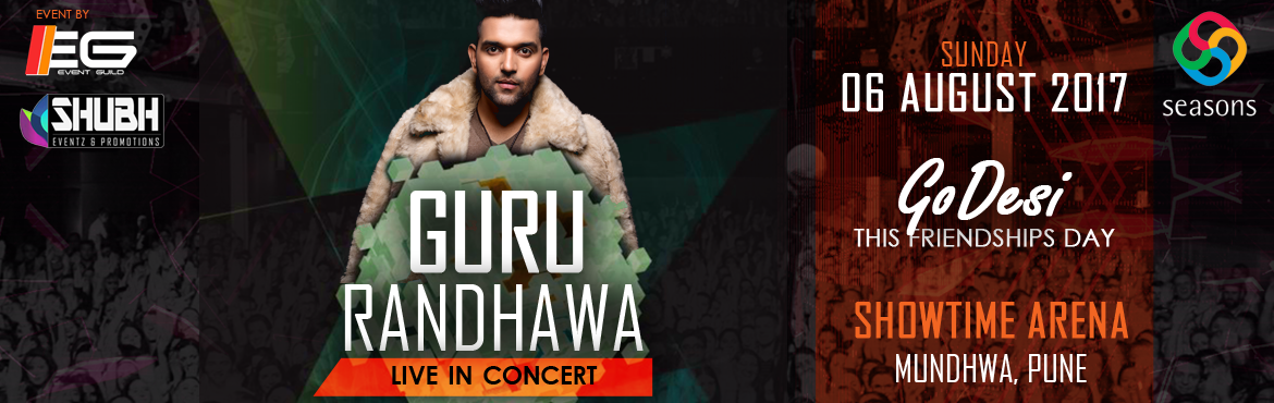 Book Online Tickets for GURU RANDHAWA live-In-Concert, Pune. Get your dancing shoes on coz this friendships day we are bringing you an amazing to groove you with #punjabi tadka along with some banging electronic beats. GURU RANDHAWA live-In-Concert Supporting artists -Mayank(Commercial
