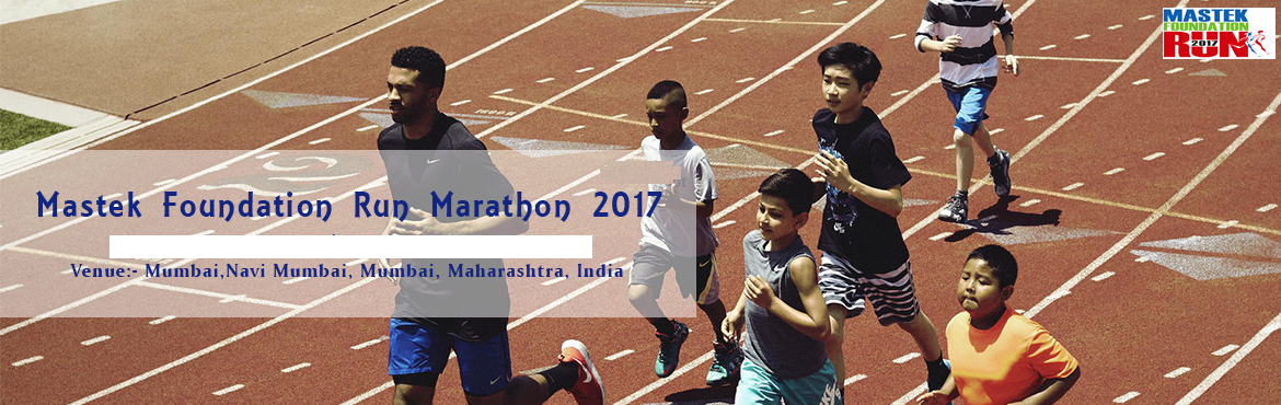 Book Online Tickets for Mastek Foundation Run Marathon 2017, Navi Mumba. About Mastek Foundation Run Marathon 2017 When you run the marathon, you run against the distance, not against the other runners and not against the time. Haile Gebrselassie Mastek Foundation Run is an annual charity event which will be held on