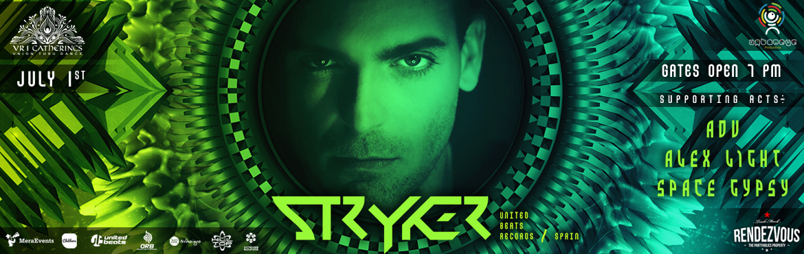 Book Online Tickets for Stryker Live @ Rendezvous, Hyderabad. VR 1 Gatherings & UrbanEye Productions bring Stryker to Hyderabad & our Dance Adobe for this Killer night is the Open Space @ Rendezvous.  Helping you Strike the Right chords will be :  Adu (Hilltop Records,India)  Space Gypsy