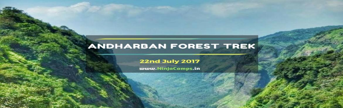 Book Online Tickets for Andharban Forest Trek with Ninja Camps, Pimpri-Chi. Details of PlaceAndharban, itself means dense dark forest. Andharban is one of the most beautiful trek in Sahyadris. The best time to visit this place is during monsoon or post monsoon. In this trek, it takes around 4-5 hours to descend the forest co