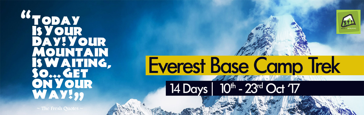 Book Online Tickets for Everest Base Camp Trek, Kathmandu. EBC Base Camp trek  Nepal is home to the mighty Himalayas, with eight of the world's ten highest mountains in the world, including the highest mountain in the world, Mount Everest. Standing on the summit of the highest point of the world is cer