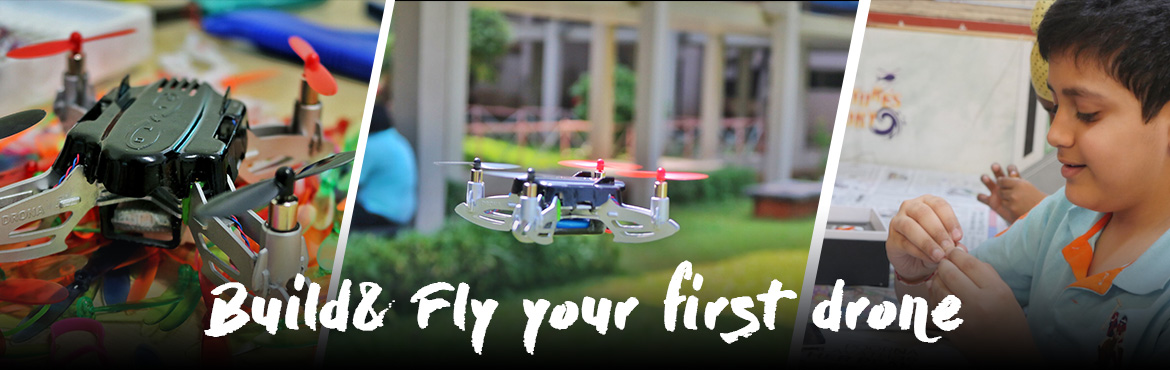 Book Online Tickets for Pluto Drone Workshop - By Drona Aviation, Mumbai. One day workshop to familiarize the participants with drones, teach them basics and intricacies of a quadrotor, enable them to build a palm sized quadrotor themselves and experience the pleasure of flying self­built drone. What it is about? Quadr
