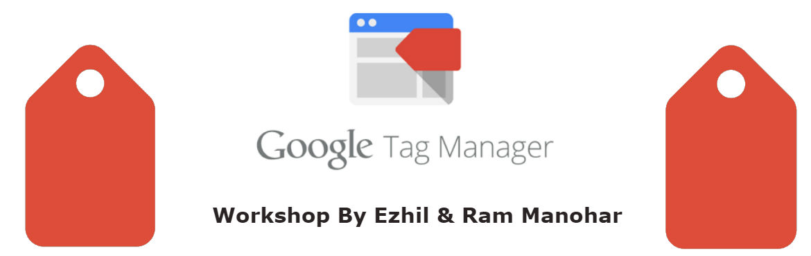Book Online Tickets for Google Tag Manager Workshop in Chennai, Chennai. This unique session is designed to introduce Google Tag Manager in a collaborative environment with a small class size. Each attendee is granted access to our custom sandbox environment where they can practice implementing Google Analytics on a test