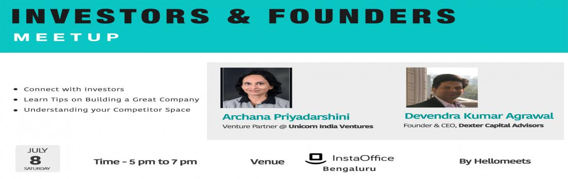 Investors and Founders Meetup- Bengaluru
