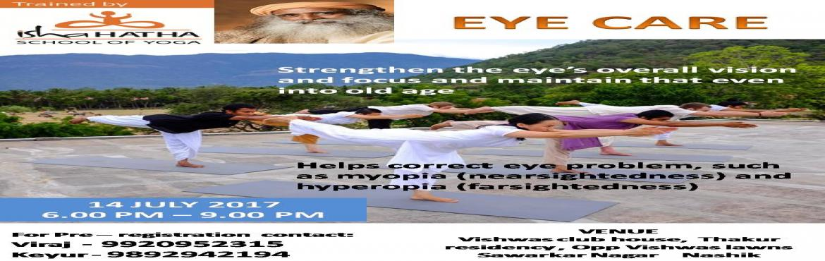 Eye Care - Isha Hatha Yoga