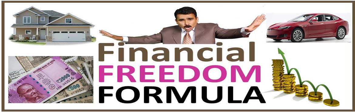 Book Online Tickets for Financial Freedom Formula, Hyderabad. If you are struggling with money, unable to stop unproductive financial behaviour like overspending, underearning, chronic debting and want to achieve financial freedom in your life, this event is for you. It is a revolutionary plan for developing th