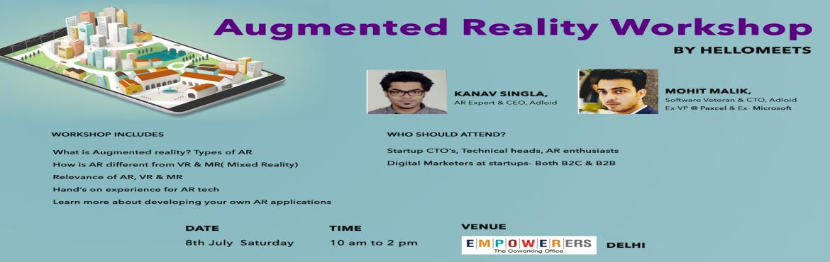 Augmented Reality Workshop- Delhi