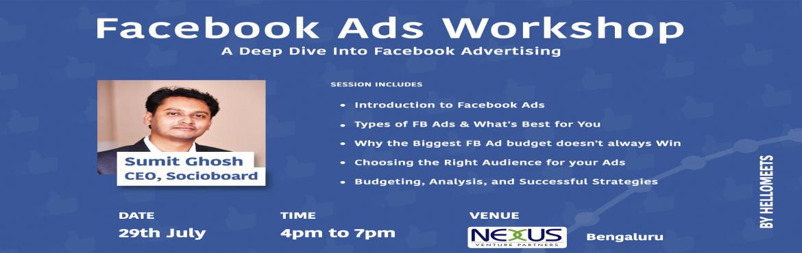 Facebook Ads Workshop- Bengaluru