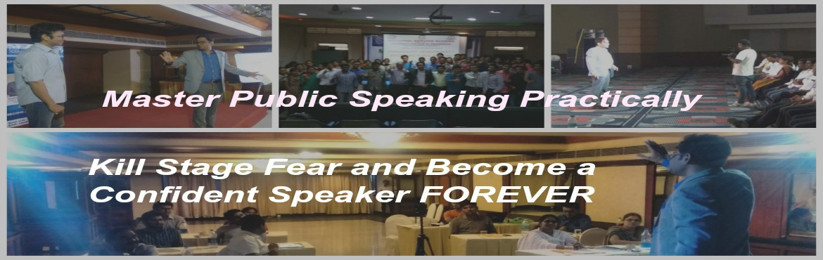 Book Online Tickets for Public Speaking and Presentation skills , Hyderabad. Reach us at :http://www.saurabhchharia.com Email:saurabh@saurabhchharia.com,Phone:+91-7795296124 Are you a professional or a business owner quite successful at your work place, people see you as a subject matter expert but do you hesitate to open up
