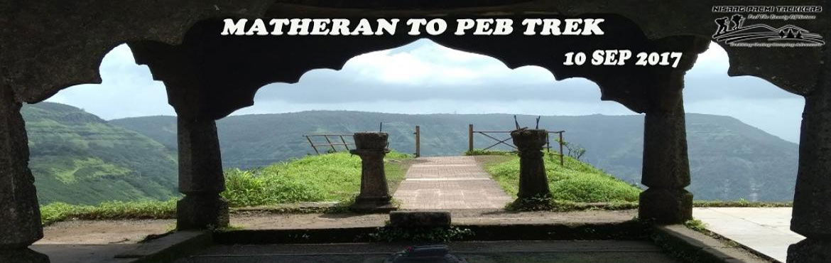 Book Online Tickets for Matheran to Peb(VikatGad) 1 day Trek by , Pune. Matheran to Peb(VikatGad) 1 day Trek on Sun 10 Sep 2017  Date: 10th Sep from Karjat Sun 08 AM to 8.00 PM Pickup points: Pune, Karjat Total Trekking Time: 4 Hrs Difficulty Level: Easy Last date for Registration: 20th Jul 2017 Fees: For Pune parti
