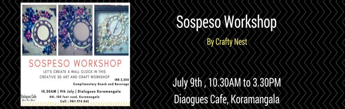 Book Online Tickets for Sospeso Workshop, Bengaluru. Sospeso is a creative 3D art and craft form. This wonderful art involves heating and shaping flat patterns, and designing them into beautiful 3D art pieces.  It is almost magical to see a small piece of plastic turn into a beautiful piece of art, rig