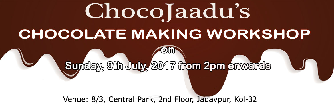 Book Online Tickets for Chocolate Making Workshop, Kolkata. Want to make chocolates at home? Want to be a professional chocolatier? Looking for classes to learn chocolates? END your search here... Chocojaadu presents its chocolate workshop, where you learn all the nuances of chocolate making. Come, join and l