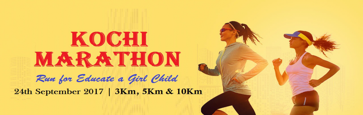 Book Online Tickets for Kochi Marathon, Kochi. The Kochi Marathon, is an annual international marathon held in Kochi, India, on the Fourth Sunday of September every year. It's going to be a one of the largest marathon in Asia as well as the largest mass participation sporting event on the c