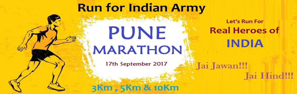 Pune Marathon - Run for Indian Army