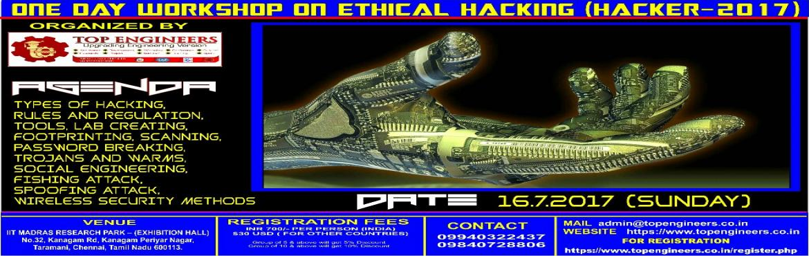 ONE DAY WORKSHOP ON ETHICAL HACKING(HACKER-2017)