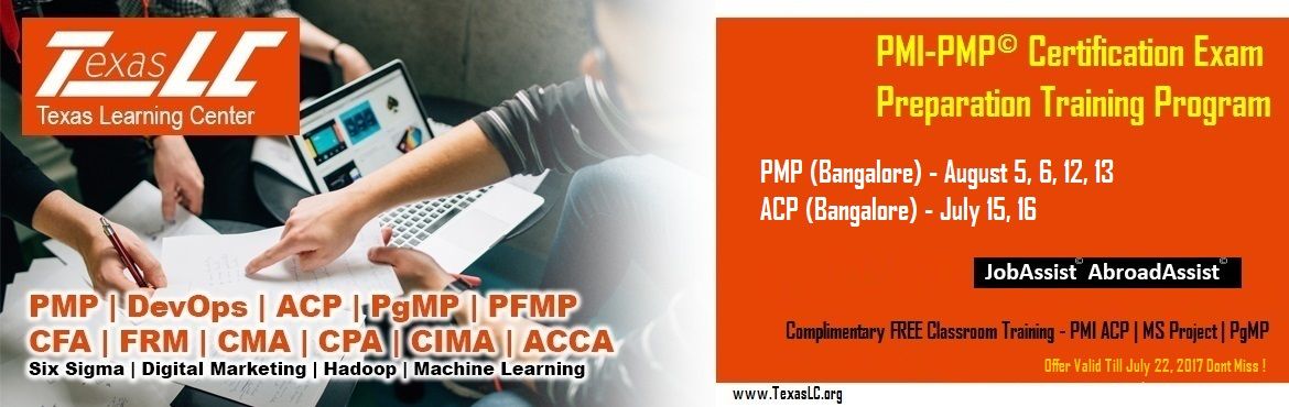 PMI-PMP Certification EXAM Preparation Training Program