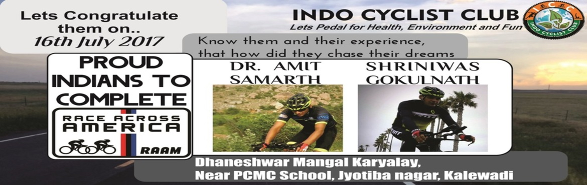 Meet RAAM ( Race Across America ) Finishers with ICC Pune