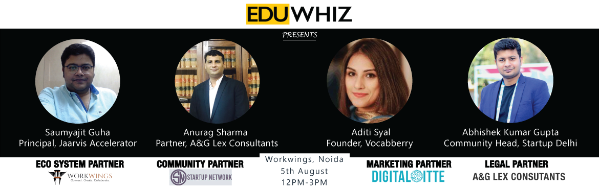 Book Online Tickets for Growth Hacks For Startups, NewDelhi. What does it take for your business to survive in the competitive world? What are the aspects of technology that you definitely need to know before jumpstarting your entrepreneurial journey? What do you need to know to take it to the new heights?  Ge