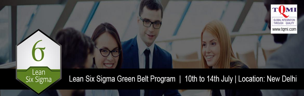 Lean Six Sigma Green Belt Program in New Delhi