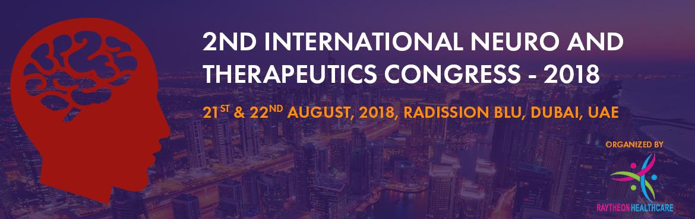 2nd International Neuro and Therapeutics Congress - 2018