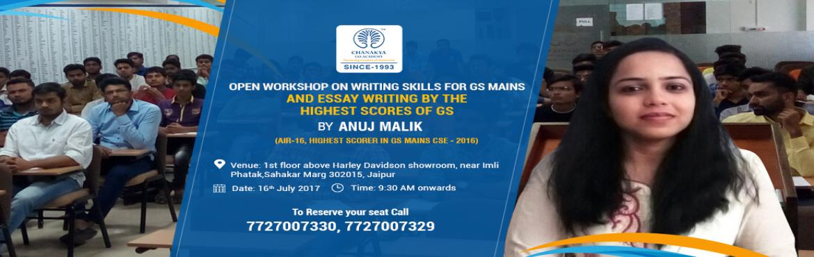 Enroll Now for Free Event in Jaipur with Anuj Malik ( AIR - 16, CSE 2016)