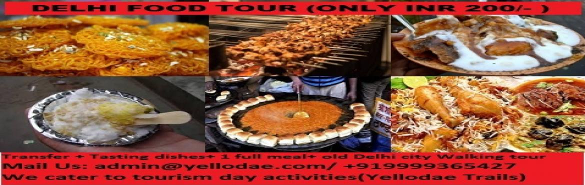 Book Online Tickets for Delhi Combo Tours(Delhi food tour + Haun, New Delhi. Expeience the new way to see Delhi by having experience all in one package of combo, where with tansfer you will get to introduce to foods of delhi delhi city tour Haunted site in delhi (Bloody gate) and a visit to memoable Gandhi Museum with p