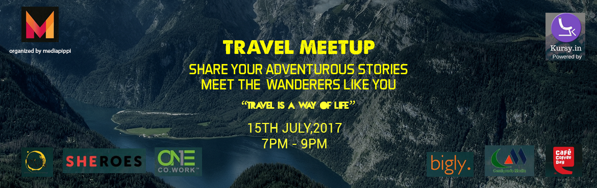 Travel Meetup: Connect over the love for travelling