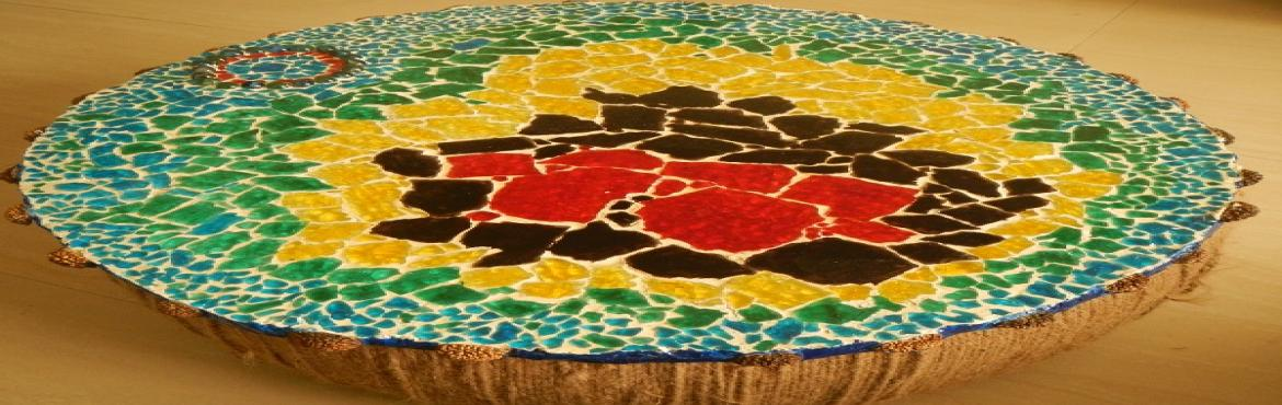 Book Online Tickets for Basic Mosaic Workshop - Bangalore - 3 sl, Bengaluru.  •9th Sept, Saturday – 2:00PM - 5:30PM•10th Sept, Sunday - 10:00AM to 1:30 PM•10th Sept, Sunday - 2:00 PM to 5:30 PMThe much sought after mosaic workshops are back in town. These workshops are for those who want to engross t