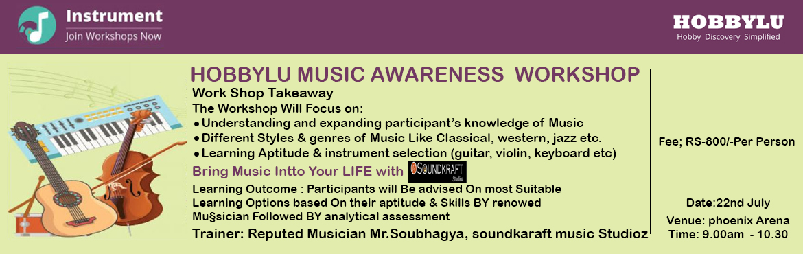 HOBBYLU Music Awareness Workshop