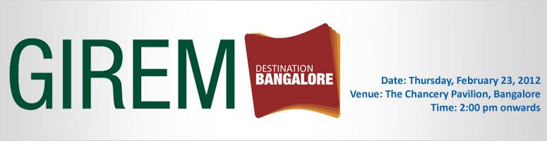GIREM Destination Bangalore