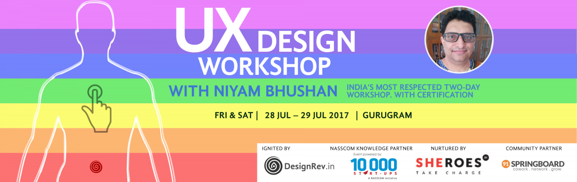 Book Online Tickets for UX Design Workshop, Gurugram. Good design is not about how it looks. Or even about how it works. Good design is about how playful it is. You take the ordinary. And make it extraordinary   You can make the world • more beautiful • more intelligent • more u
