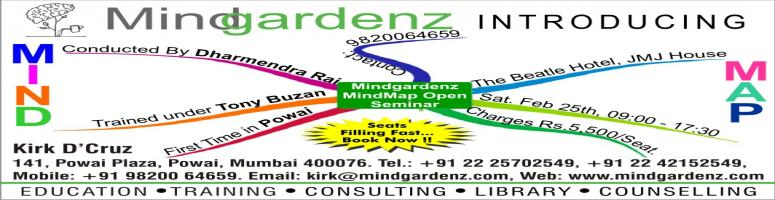Mind Map Open Seminar in Powai on Feb 25th